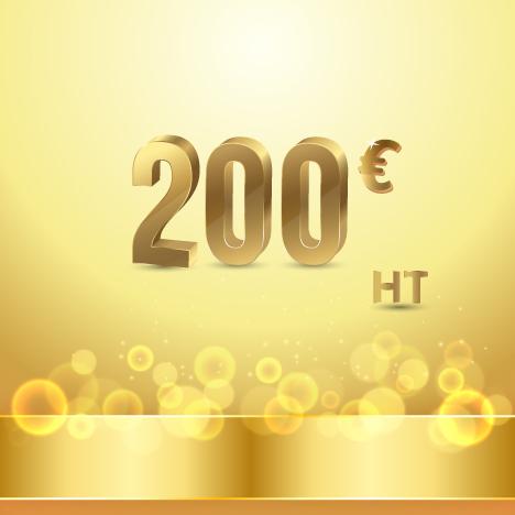 maintenance technique 200 Eur ht