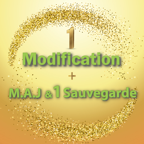 1-Modification+MAJ+sauvegarde